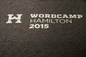 WordCamp Hamilton 2015 Tshirt
